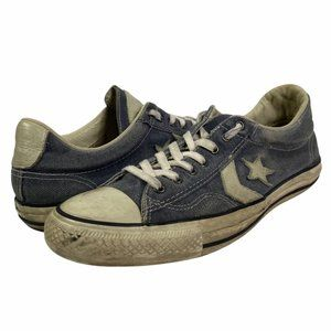 Converse All Stars John Varvatos Mens Sneakers Shoes Low Top Lace Up Blue 10